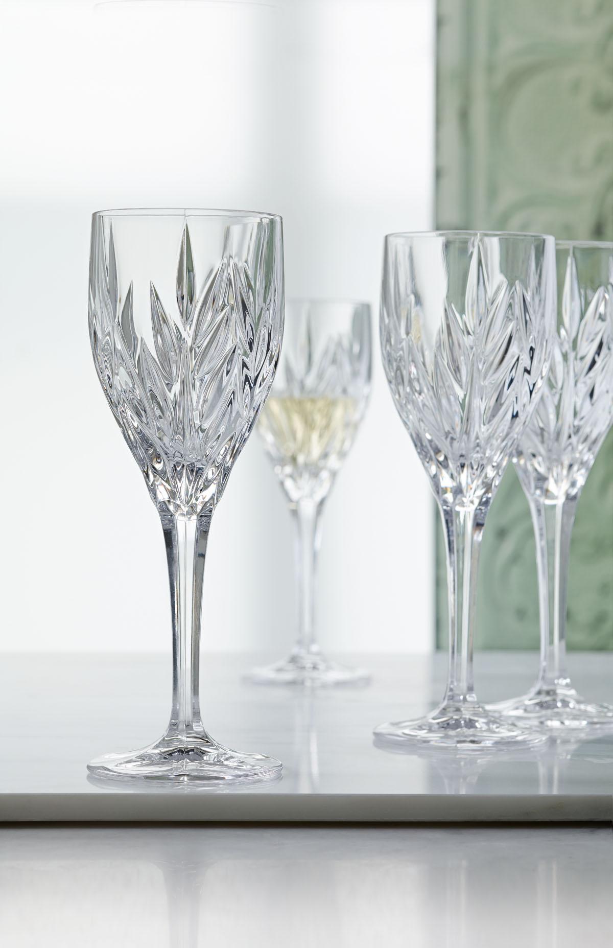 Imperial Set 4 Pahare Cristalin Vin 240 Ml 2021 aranjareamesei.ro