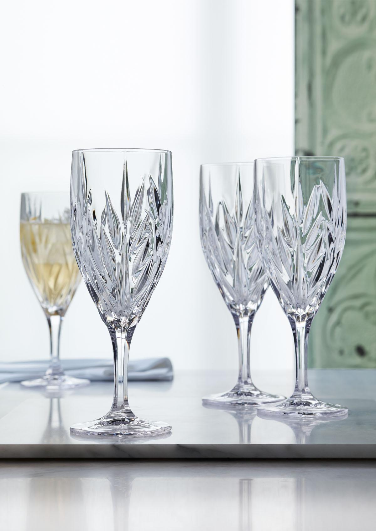 Imperial Set 4 Pahare Cristalin Vin 340 Ml 2021 aranjareamesei.ro