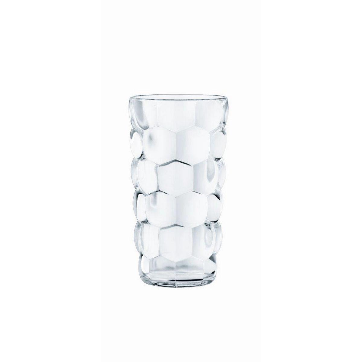 Bubbles Set 4 Pahare Cristalin Apa 390 Ml 2021 aranjareamesei.ro