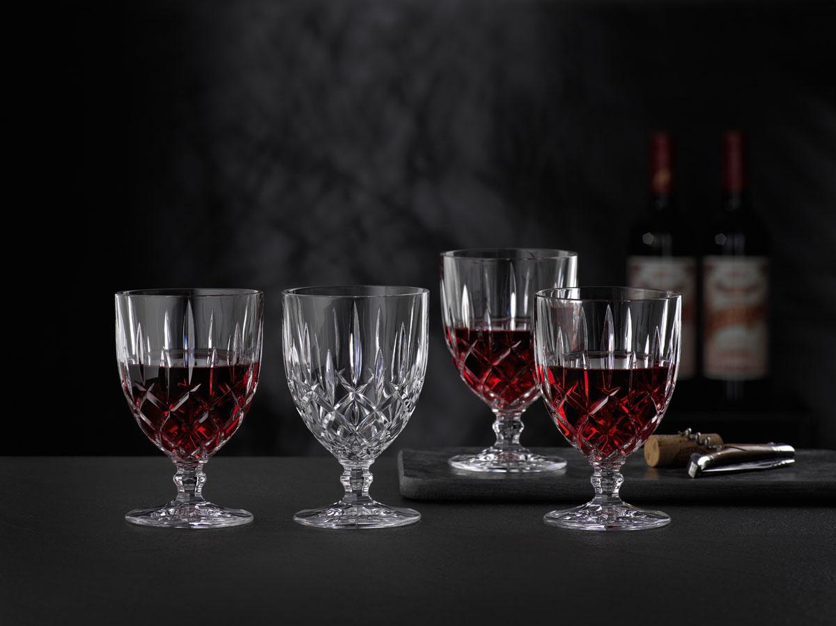 Noblesse Set 4 Pahare Cristalin Vin 350 Ml 2021 aranjareamesei.ro