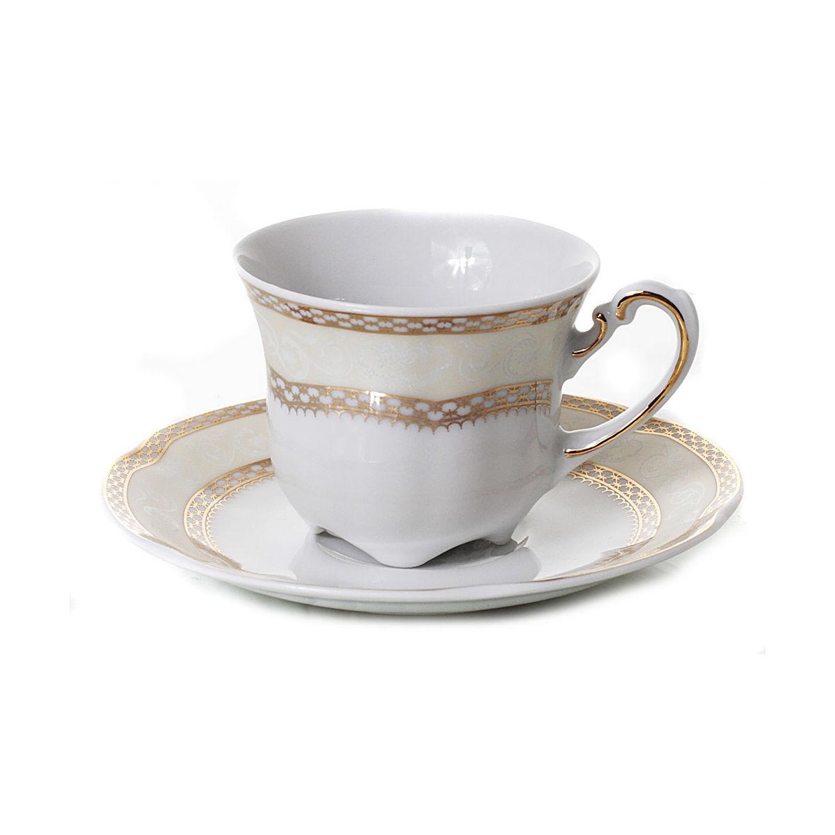 Sophia Serviciu Cafea Portelan 6 Persoane 100 Ml 2021 aranjareamesei.ro