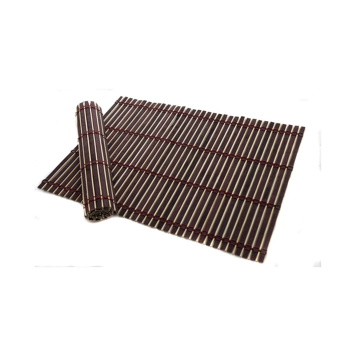 Poza Set 2 suporturi farfurie bambus 45*30 cm
