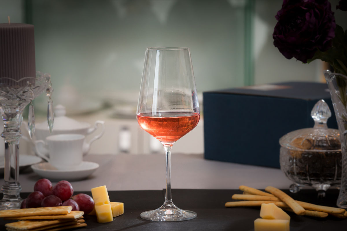 Sandra Set 6 Pahare Cristalin Vin Rosu 450 Ml 2021 aranjareamesei.ro