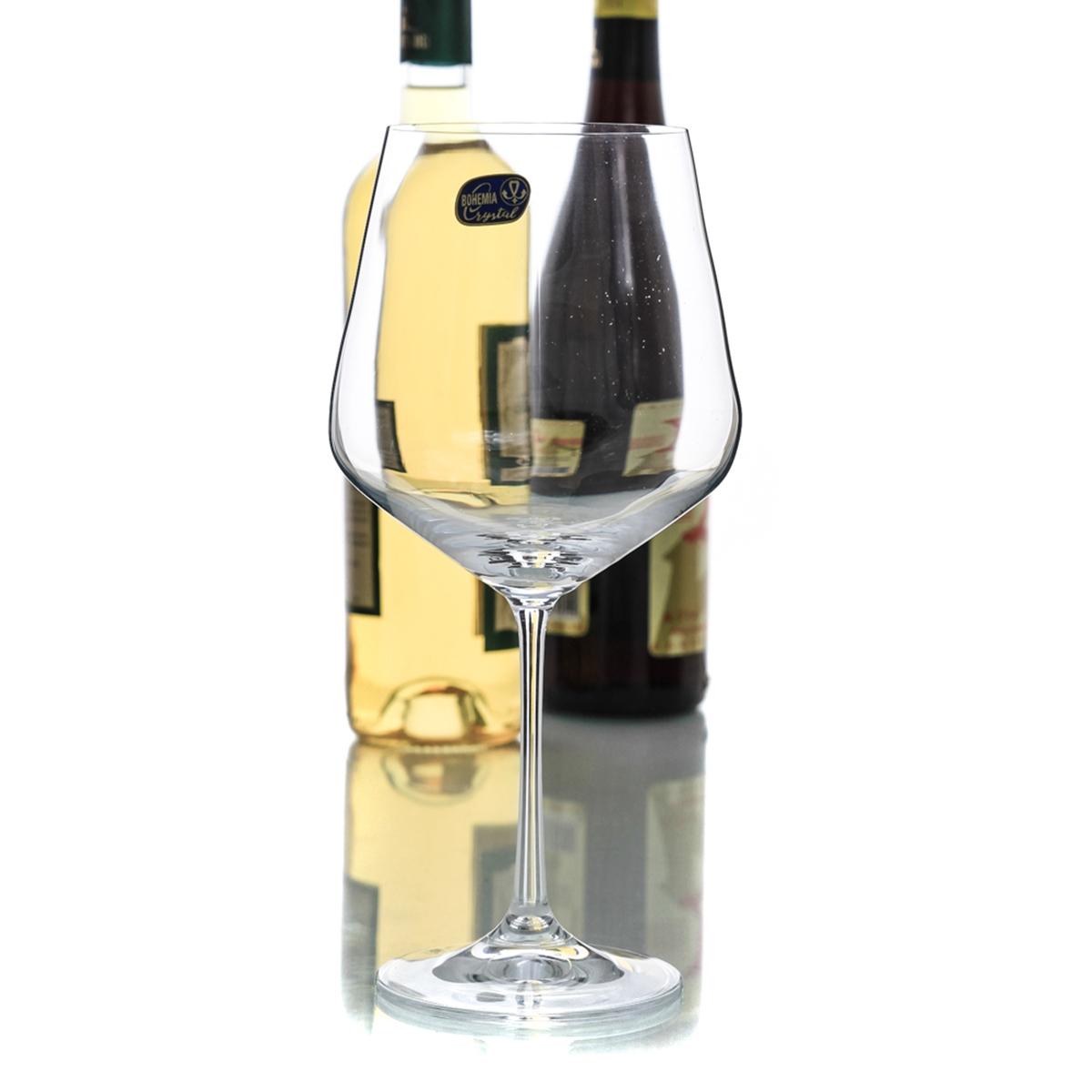 Sandra Set 6 Pahare Cristalin Burgundy 570 Ml 2021 aranjareamesei.ro