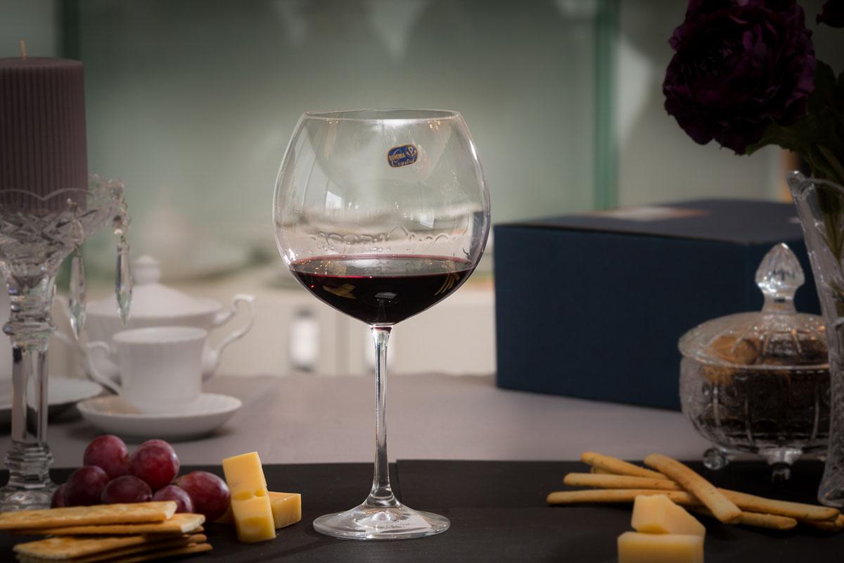 Grandioso Set 2 Pahare Cristalin Vin 710 Ml 2021 aranjareamesei.ro