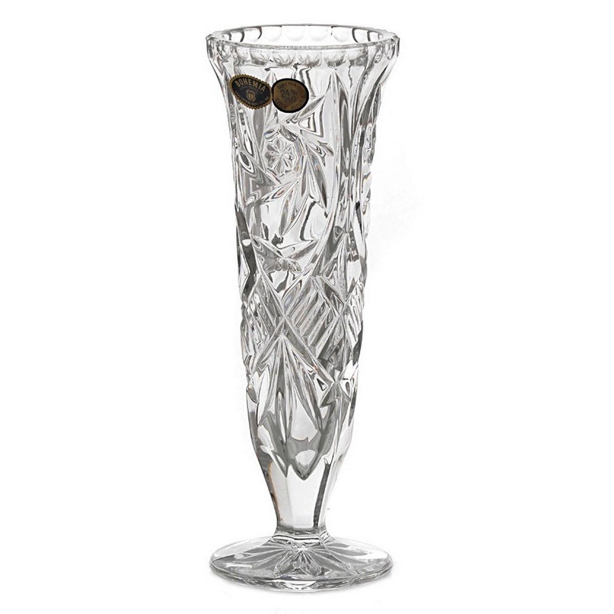 Vaza Cristal Bohemia 21 Cm 2021 aranjareamesei.ro