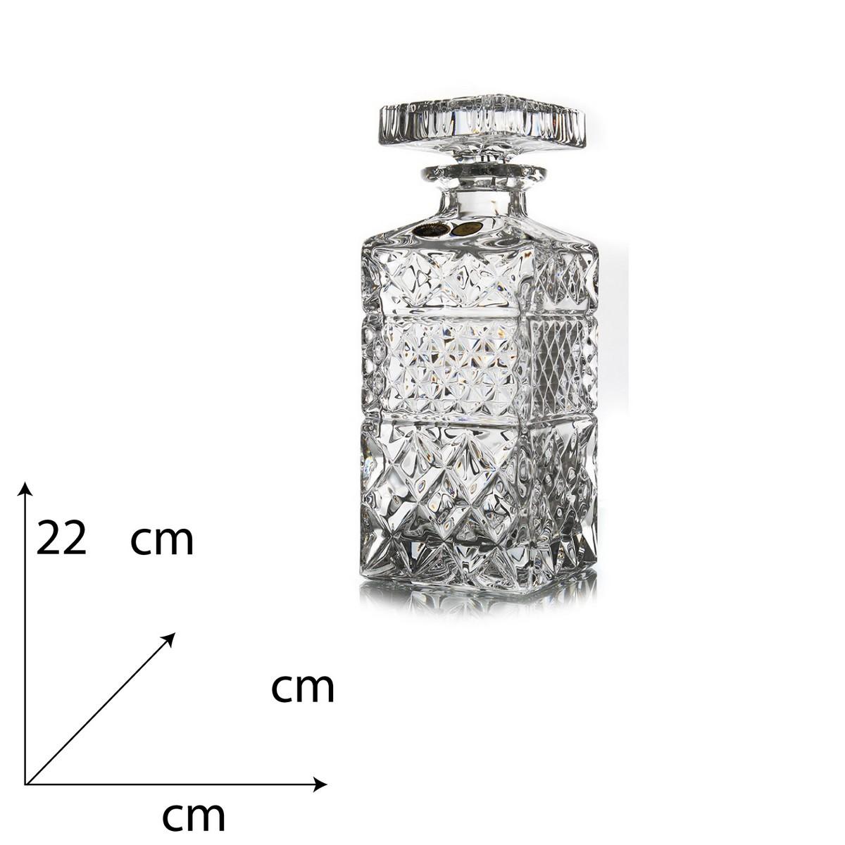 Madison Decantor Whisky Cristal Bohemia 700 Ml 2021 aranjareamesei.ro