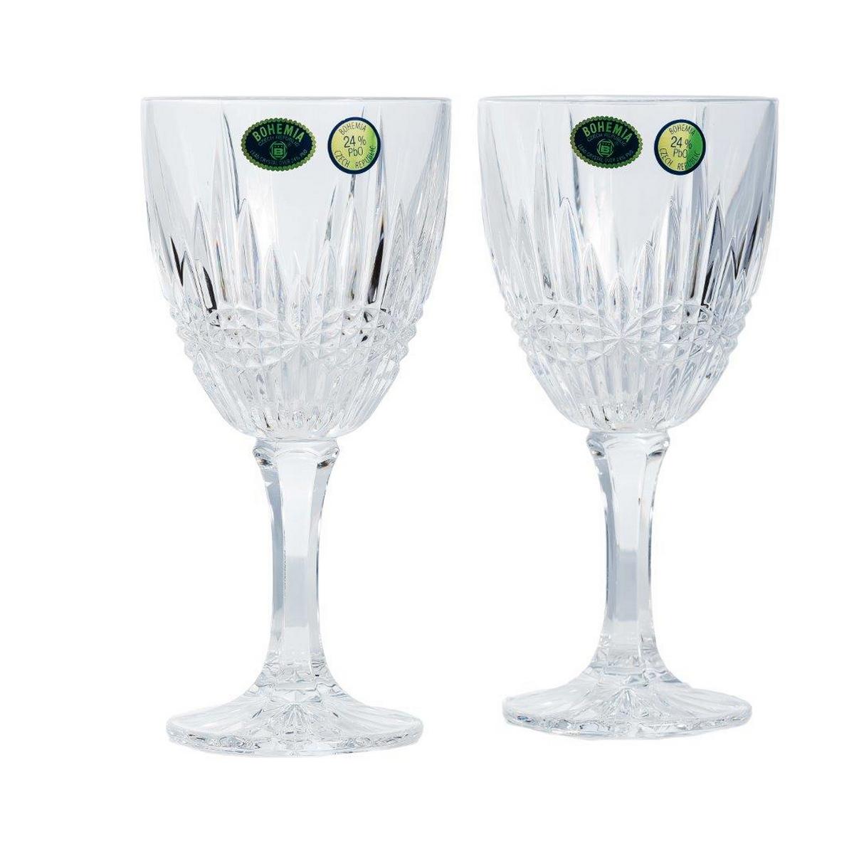 Vibes Set 6 Pahare Cristal Bohemia Vin 380 Ml 2021 aranjareamesei.ro
