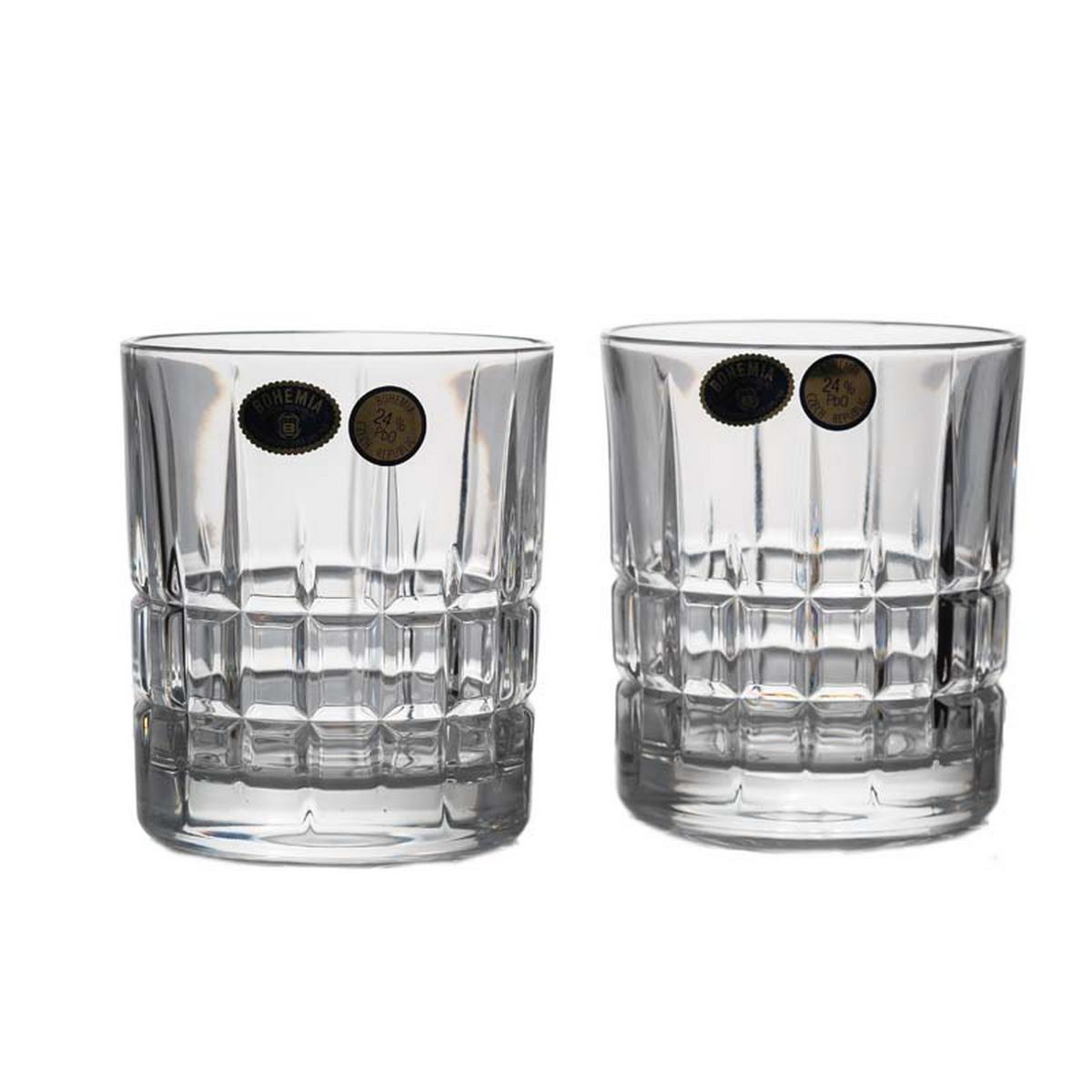 London Set 6 Pahare Cristal Bohemia Whisky 320 Ml 2021 aranjareamesei.ro