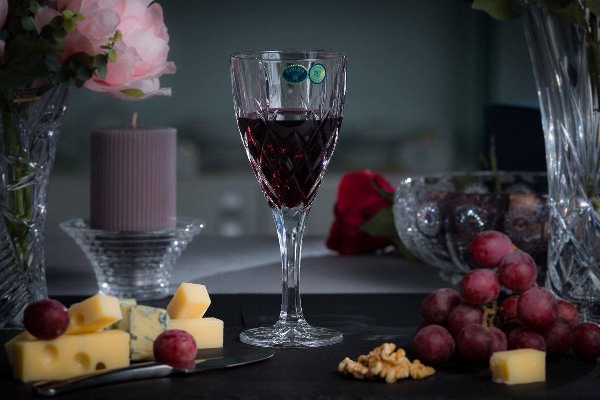 Brixton Set 6 Pahare Cristal Bohemia Vin 320 Ml 2021 aranjareamesei.ro