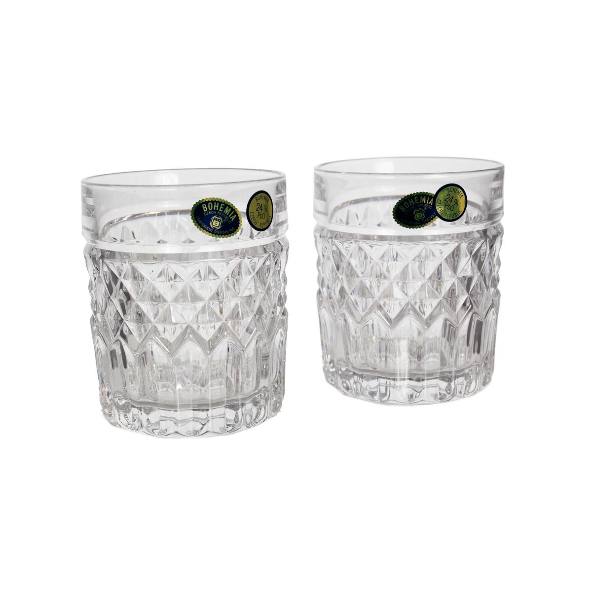 Set 6 Pahare Cristal Bohemia Whisky 320 Ml (07604) 2021 aranjareamesei.ro