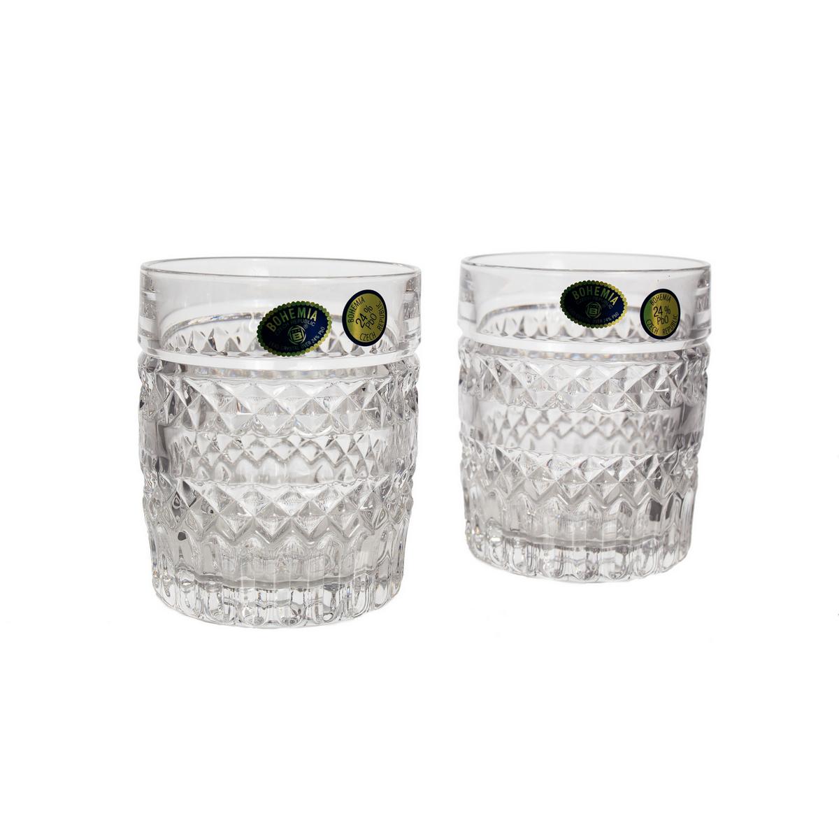 Set 6 Pahare Cristal Bohemia Whisky 320 Ml (07605) 2021 aranjareamesei.ro