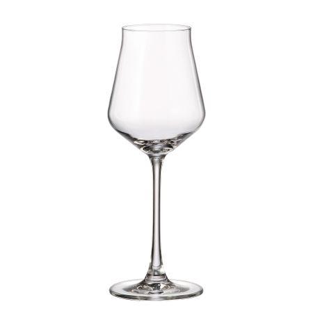 Alca Set 6 Pahare Cristalin Vin 310 Ml 2021 aranjareamesei.ro