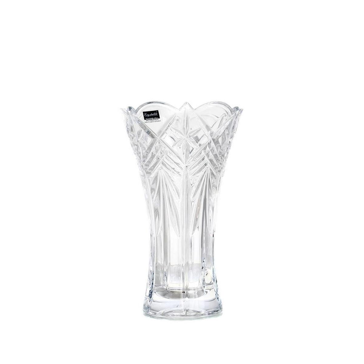 Taurus Vaza Cristalin Evazata 20.5 Cm 2021 aranjareamesei.ro