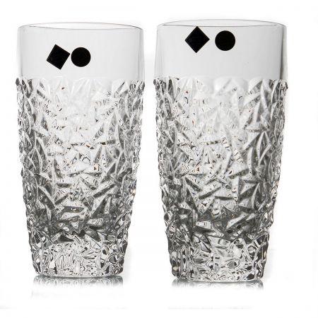 NICOLETTE Set 6 pahare cristal apa/suc 430 ml