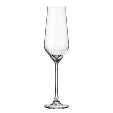 ALCA Set 6 pahare cristalin sampanie 220 ml