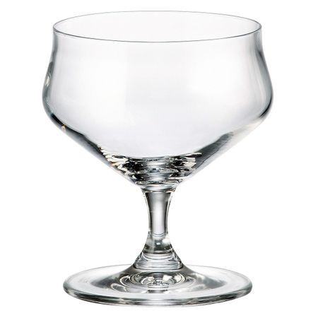 ALCA Set 6 cupe cristalin inghetata 240 ml