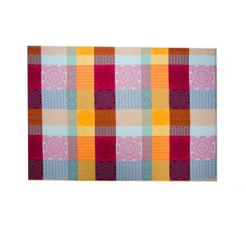 CHAMBORD Fata de masa bumbac 160*160 cm multicolor