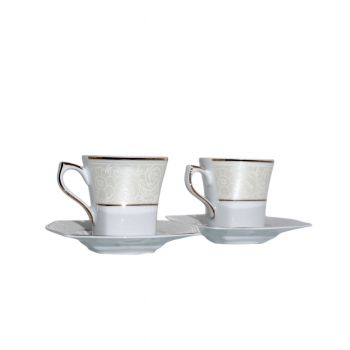 LVOV Serviciu cafea portelan 100 ml