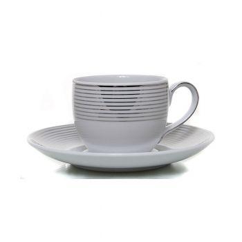 INGRID Serviciu cafea portelan 6 persoane 100 ml