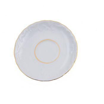 ROCOCO Farfuriuta ceasca portelan 12.5 cm