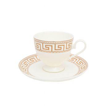 ATHENA Serviciu ceai portelan 6persoane 220 ml