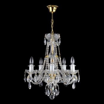 Candelabru cristal 5 brate 1740-5-S