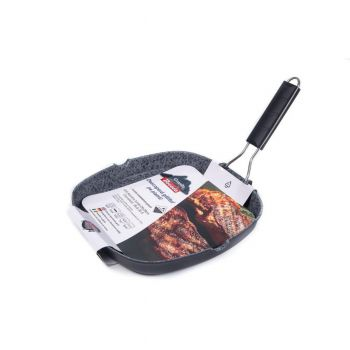 BACODA Tigaie grill aluminiu turnat inductie 28*28*4cm