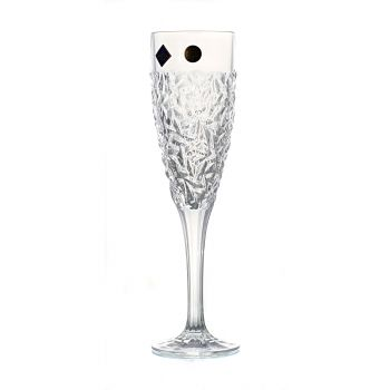 NICOLETTE Set 6 pahare cristal sampanie 180 ml