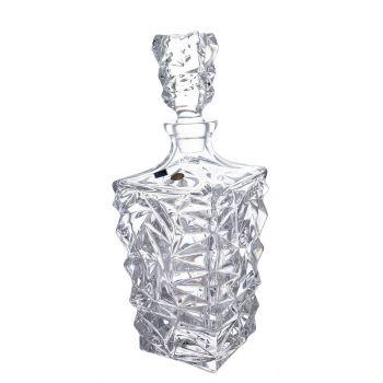GLACIER Decantor cristal whisky 900 ml
