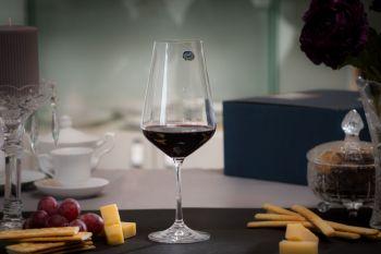 SANDRA Set 6 pahare cristalin vin 550 ml