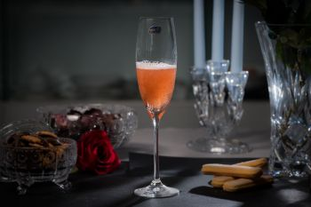 GRANDIOSO Set 2 pahare cristalin sampanie 230 ml