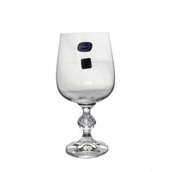 CLAUDIA Set 6 pahare cristalin vin 455 ml