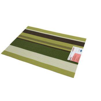 Suport farfurie PVC 29*43 cm verde/gri