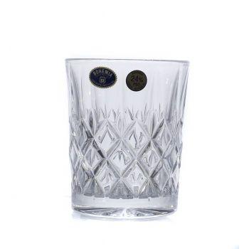 ANGELA Set 6 pahare cristal Bohemia whisky 320 ml