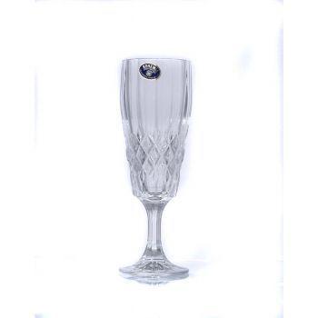 ANGELA Set 6 pahare cristal sampanie 160 ml