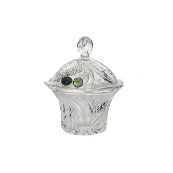 Bomboniera cristal Bohemia 15.5 cm