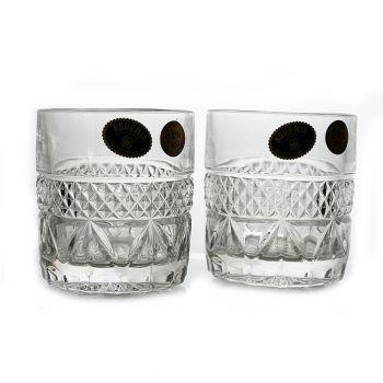 ANGELA Set 6 pahare cristal whisky 140 ml