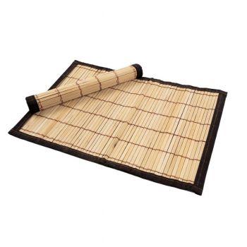Set 2 suporturi farfurie bambus 30*45 cm cu bordura