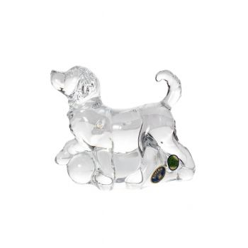 """Figurina cristal """"Caine"""" 13.6 cm"""