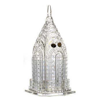 """Bomboniera cristal """"Empire State"""" 30 cm"""
