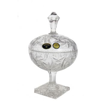 Bomboniera cristal 19 cm