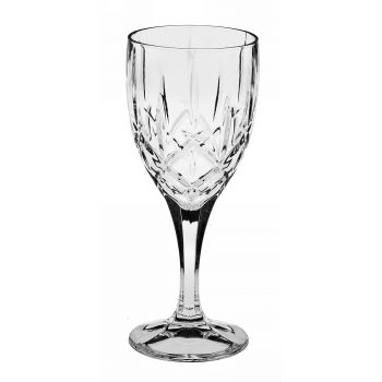 SHEFFIELD Set 6 pahare cristal Bohemia vin 330 ml
