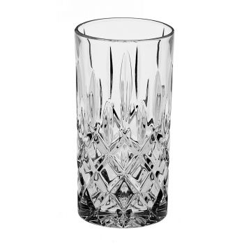 SHEFFIELD Set 6 pahare cristal apa/suc 380 ml