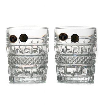 BRITTANY Set 6 pahare cristal whisky 240 ml