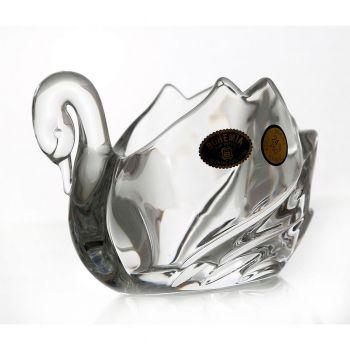 "Figurina cristal ""Lebada"" 12 cm"