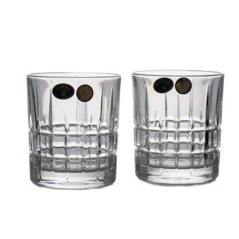 LONDON Set 6 pahare cristal whisky 320 ml