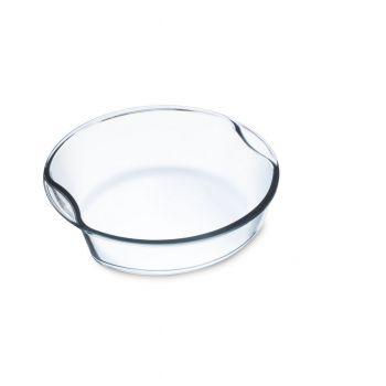 EXCLUSIVE Caserola sticla termorezistenta rotunda 1.5 l