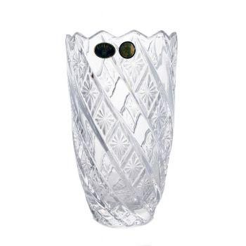 RUTH Vaza cristal Bohemia 19 cm