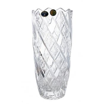 RUTH Vaza cristal Bohemia 24 cm